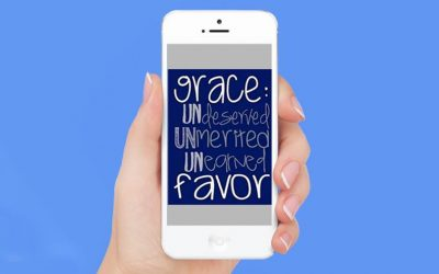GRACE is UNdeserved, UNmerited, UNearned favor!