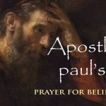 Apostle Paul's Prayer for Believers