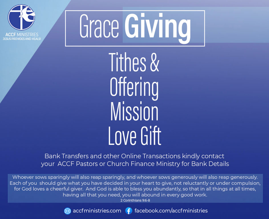 ACCF Church - Grace Giving
