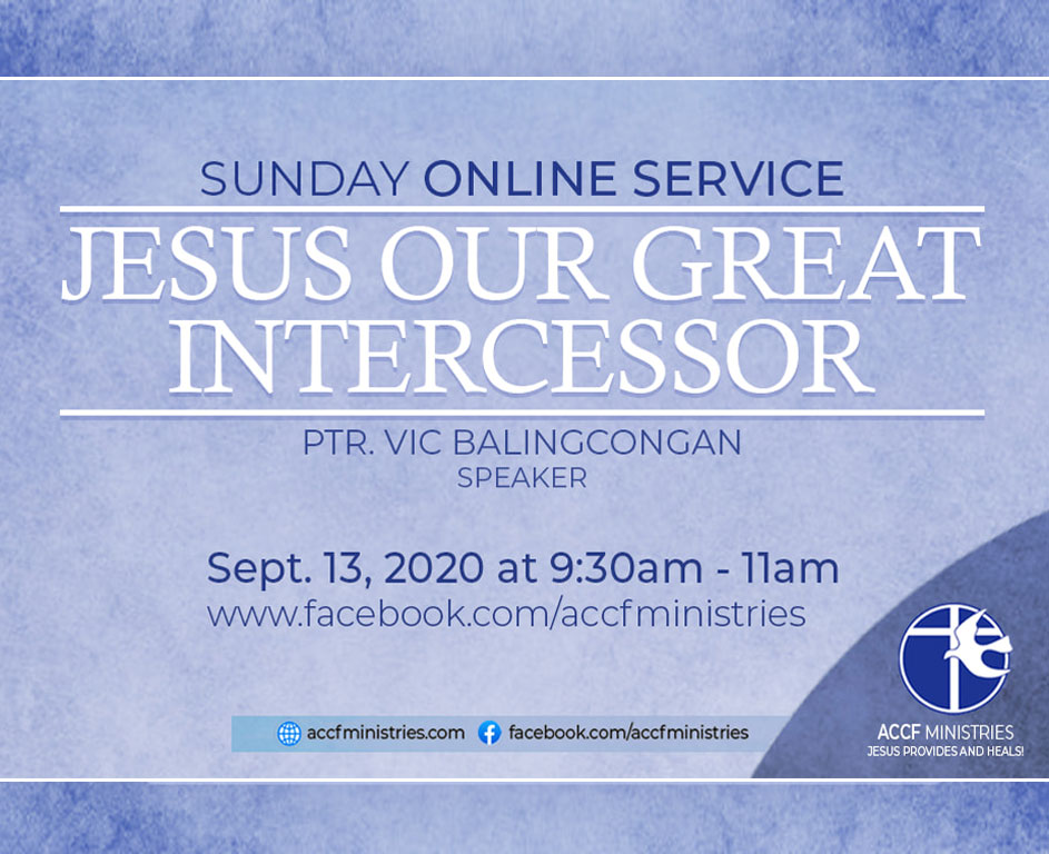 Jesus Our Great Intercessor