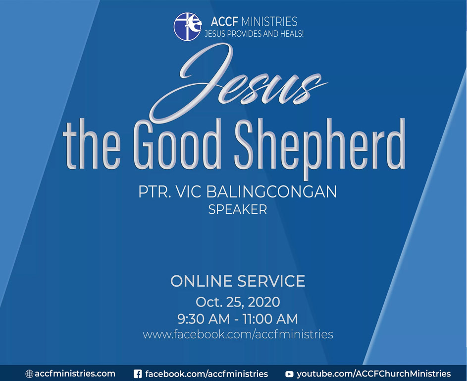 Church Online - Jesus the good shepherd