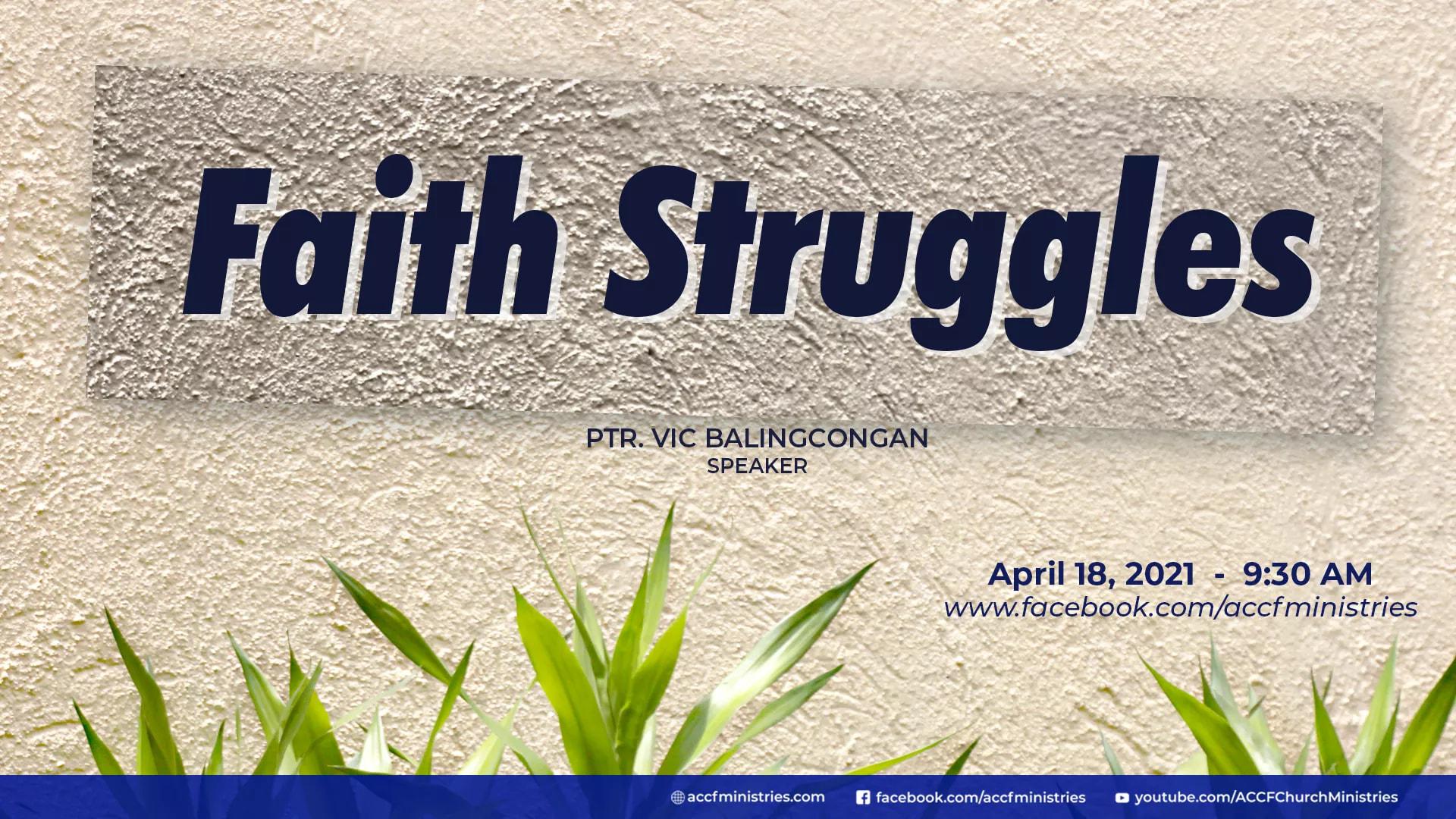 Faith Struggle