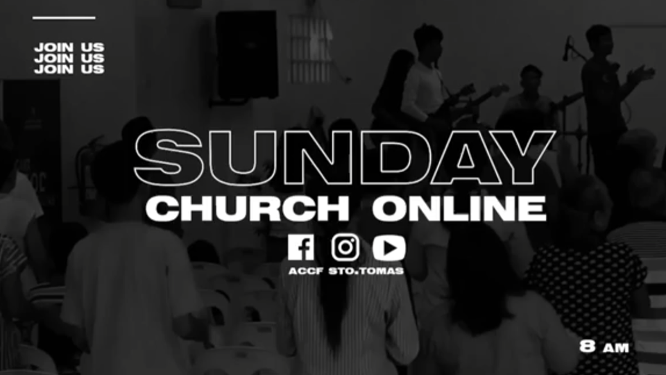 ACCF Sto. Tomas Online Worship Service