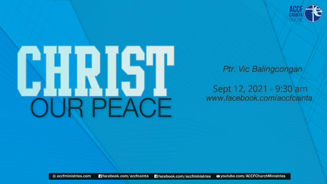 ACCF Cainta Online Worship Service